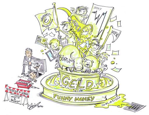 OeNB: FUNNY MONEY. Geld in der Karikatur.