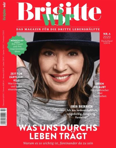 """Cover_Brigitte_Wir_04/2020 Weiterer Text über ots und www.presseportal.de/nr/118164 / Die Verwendung dieses Bildes ist für redaktionelle Zwecke honorarfrei. Veröffentlichung bitte unter Quellenangabe: """"obs/Gruner+Jahr, BRIGITTE WIR"""""""