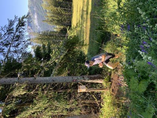 Paul Guschlbauer beim Trailrunning in Wagrain-Kleinarl