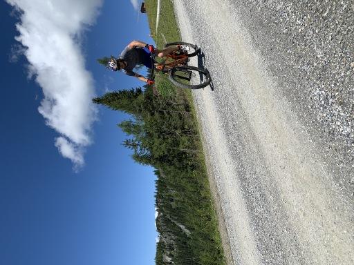 Paul Guschbauer beim Mountainbiken in Wagrain-Kleinarl