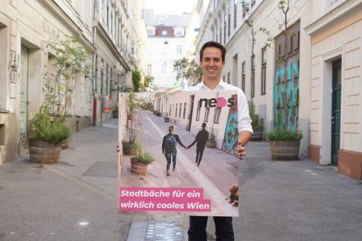 Neue Bäche für Wien mit Christoph Wiederkehr