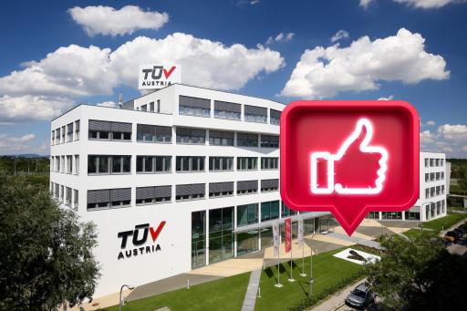 Auf dem TÜV AUSTRIA Campus sammeln sich Likes und Follower: Technische Sicherheit und Qualität als Community-Driver auf Facebook, LinkedIn und Instagram in der COVID-19 Krise www.tuvaustria.com