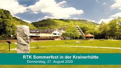 RTK-Sommerfest im Seminar- und Eventhotel Krainerhütte.