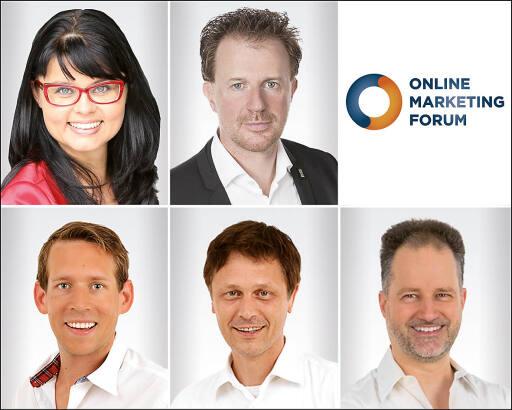 """Die Referenten der zertifizierten Lehrgänge """"Social Media Marketing"""" und """"Online Marketing""""."""