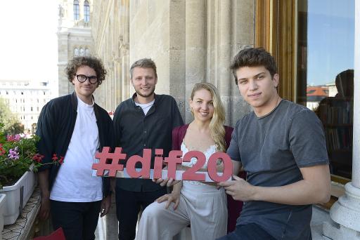 #dif20 RTIC GewinnerInnen stehen fest..v.li.n.re.Another Vision, Maddy Rose, PandH