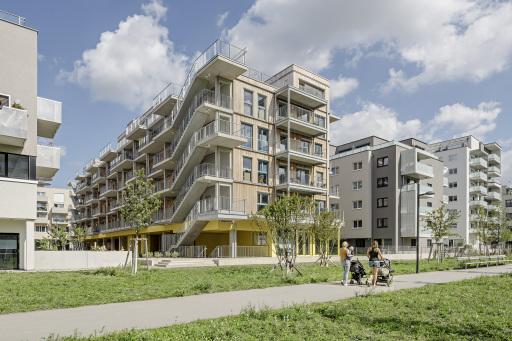 Wohnprojekt Gleis 21, Sonnwendviertel Wien