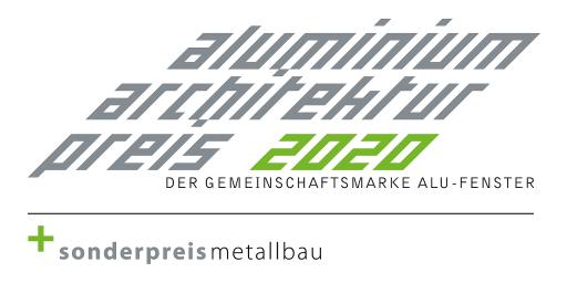 Logo Aluminium-Architektur-Preis 2020 + Sonderpreis Metallbau