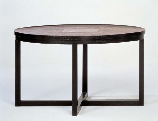 Josef Hoffmann, Tisch für die Wohnung Dr. Hermann Wittgenstein, 1905