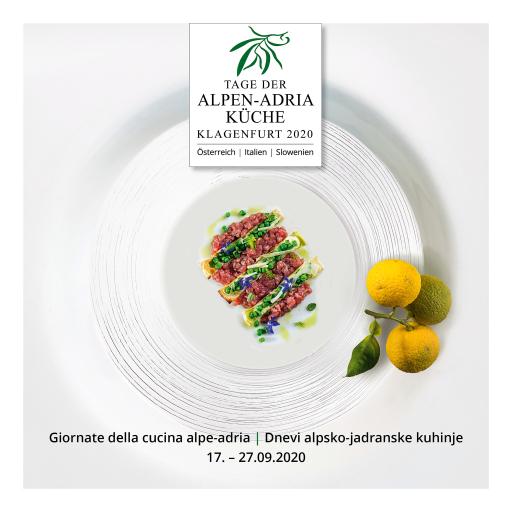 Titelbild Tage der Alpen-Adria Küche 2020