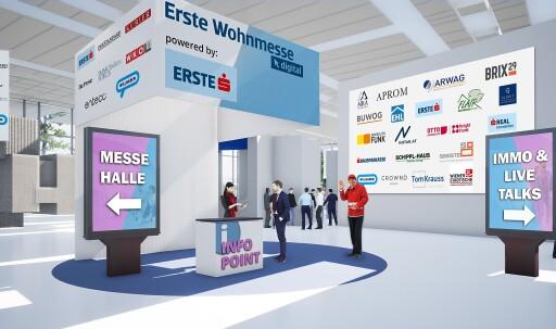 Lobby der Erste Wohnmesse .digital