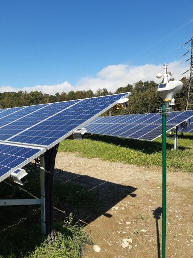 PV-Anlage mit Wetterstation und Sensor-Kit