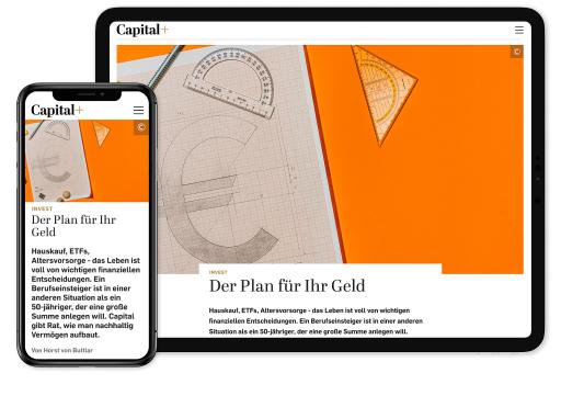 """Capital+ / Weiterer Text über ots und www.presseportal.de/nr/8185 / Die Verwendung dieses Bildes ist für redaktionelle Zwecke honorarfrei. Veröffentlichung bitte unter Quellenangabe: """"obs/Capital, G+J Wirtschaftsmedien"""""""