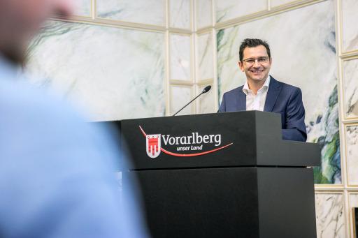 VHS-Bregenz-Geschäftsführer Dr. Michael Grabher