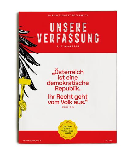 """Cover von """"Unsere Verfassung als Magazin"""""""