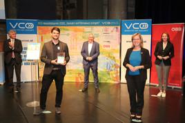 Intelligent Framework for Resilient Design gewinnt den VCÖ-Mobilitätspreis 2020 in der Kategorie Digitalisierung