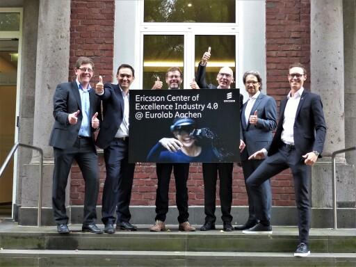 """Ericsson Center of Excellence Industry 4.0 / Weiterer Text über ots und www.presseportal.de/nr/13502 / Die Verwendung dieses Bildes ist für redaktionelle Zwecke honorarfrei. Veröffentlichung bitte unter Quellenangabe: """"obs/Ericsson GmbH"""""""
