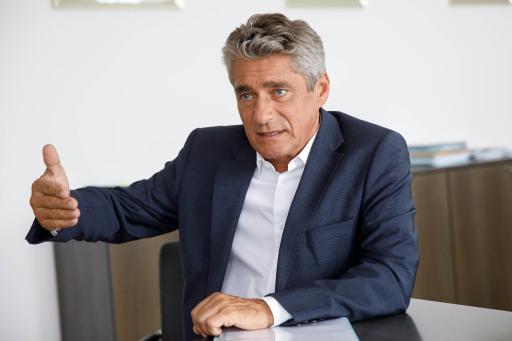 FPÖ-Klubobmann Herwig Mahr im Gespräch