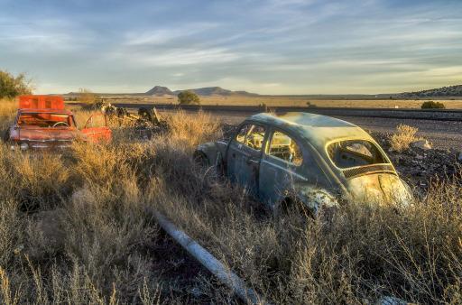 """Entlang der Route 66 im Herzen Arizonas (aus """"America"""" von Claus Drexel / ARTE-Programmschwerpunkt """"Inside USA"""") / Weiterer Text über ots und www.presseportal.de/nr/9021 / Die Verwendung dieses Bildes ist für redaktionelle Zwecke honorarfrei. Veröffentlichung bitte unter Quellenangabe: """"obs/ARTE G.E.I.E./Alle Rechte vorbehalten"""""""