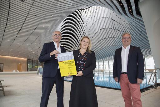 Verleihung des Architekturpreises des Landes Salzburg 2020 für das Paracelsus Bad & Kurhaus