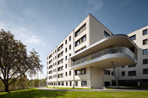 Aussenansicht Haus Föhrenhof, Eröffnung nach Generalsanierung im Jahr 2015.