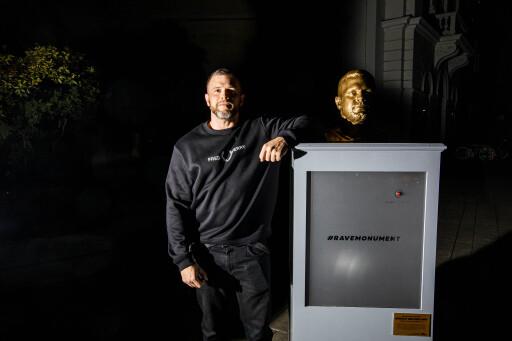 Gerald van der Hint Denkmal #ravemonument