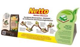 Deutscher Verpackungspreis 2020: Gold für digitale Netto-Technologie