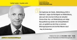 Weiterbildung 2020 in Österreich