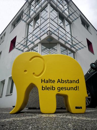 "CUBIC ""Babelo-Abstandselefant"""