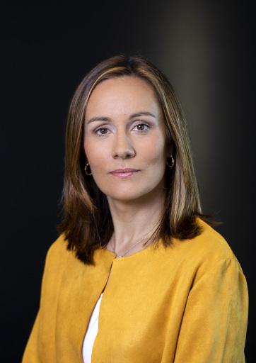 Dr. Amaya Echevarría, Geschäftsführerin von Gilead Sciences in Österreich