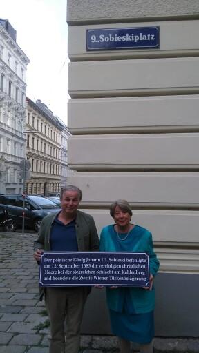 Gregor Amhof und Ursula Stenzel