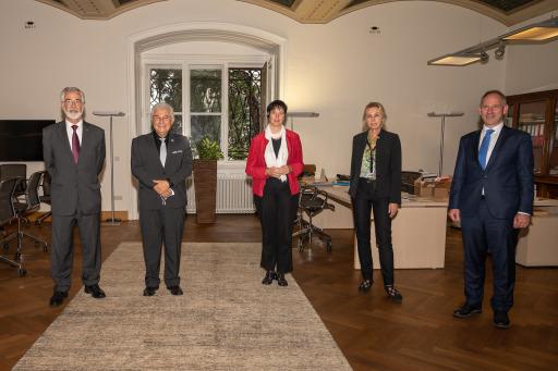 Brasiliens Wissenschaftsminister, Botschafter und das NHM Wien