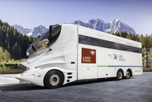 Rollende Labore sind künftig in Tirol unterwegs.