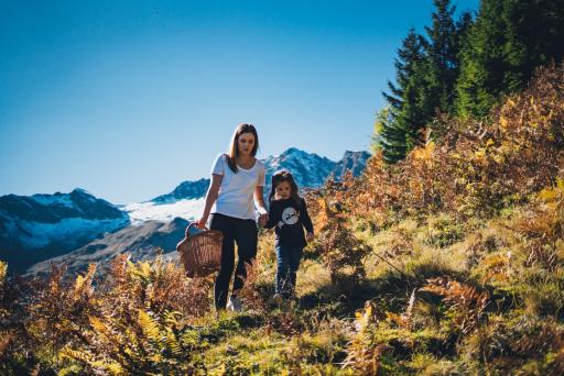 Herbsturlaube auf Kärntens Almen laden zu Wanderungen ein