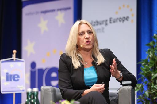 Salzburg Europe Summit des Institutes der Regionen Europas in Salzburg.Foto: Franz Neumayr 27.9.2020
