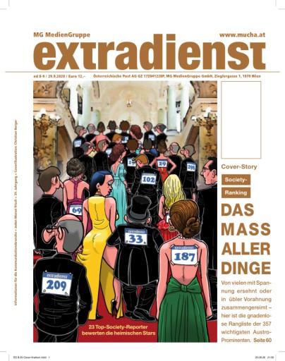 EXTRADIENST 8-9/2020 SOCIETY RANKING – DAS MASS ALLER DINGE