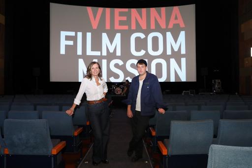 Geschäftsführerin Marijana Stoisits und Regisseur und Kameramann Ioan Gavriel