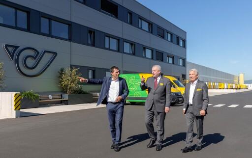Logistikzentrum Steiermark: Offizielle Eröffnung mit Landeshauptmann Schützenhöfer