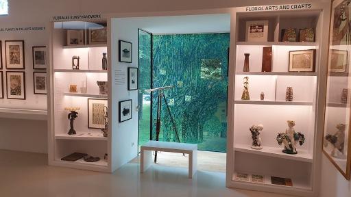 Einblick in die Sonderschau im Gustav Klimt-Zentrum am Attersee, 2020