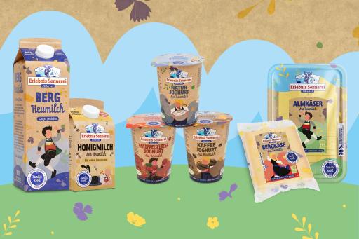 Das neue frische Design und die nachhaltigen Verpackungsmaterialien.