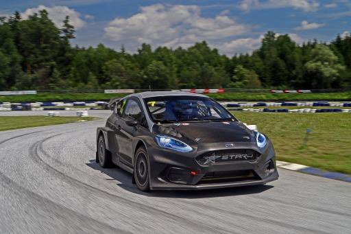 """STARD Ford Fiesta ERX / Weiterer Text über ots und www.ots.at / Die Verwendung dieses Bildes ist für redaktionelle Zwecke honorarfrei. Veröffentlichung bitte unter Quellenangabe: """"obs/Ford Motor Company (Austria) GmbH"""""""