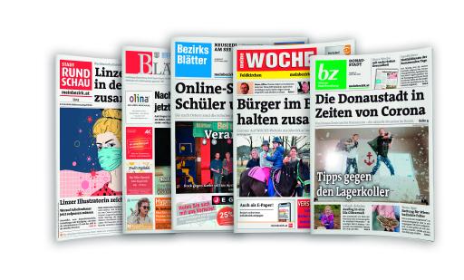 Die Zeitungen der RMA.
