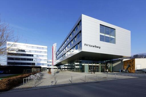 Der Studienbetrieb an der FH Vorarlberg wird derzeit im Hybridmodus geführt.