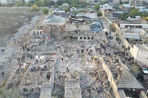 Bild Trotz Der Humanitaren Waffenpause Greift Armenien Aserbaidschanische Stadte An Botschaft Der Republik Aserbaidschan 18 10 2020 Ots At