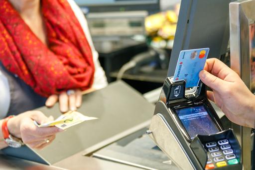 Das Bargeldservice von Mastercard