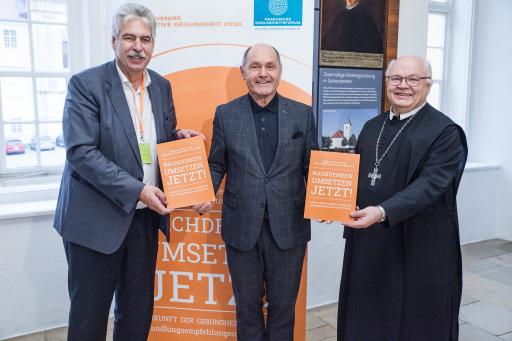 Dr. Hans Jörg Schelling, Mag. Wolfgang Sobotka, Mag. Petrus Pilsinger