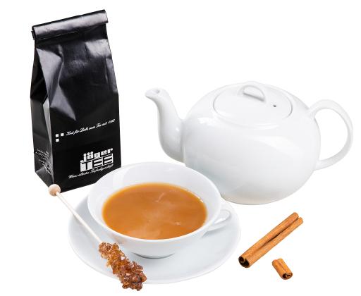 Chai Tee mit Milch von JägerTEE, Tee des Jahres 2020 Freitsteller
