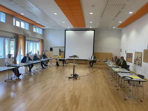 Konstituierung im Kultursaal in Hart bei Graz am 19.9.2020
