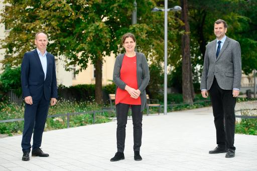 v.l.n.r. Christoph Ressler (GVTB), Claudia Dankl (VÖZ), Gernot Brandweiner (VÖB)