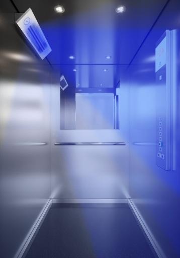 Schindler CleanMobility Lösungen: Hygiene und Sicherheit in Aufzügen, auf Fahrtreppen sowie Fahrsteigen