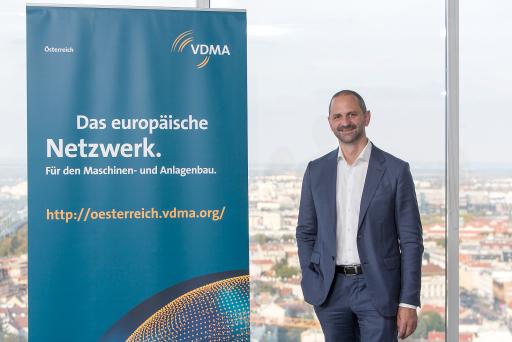 Dr. Christoph Steger, Engel Austria GmbH (Vorstandsvorsitzender VDMA Geschäftsstelle Österreich)